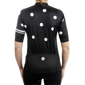 AGU Essential Dot Cykeltrøje Damer, black/white